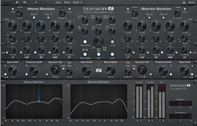 UAD BX DIGITAL V3 BY BRAINWORX