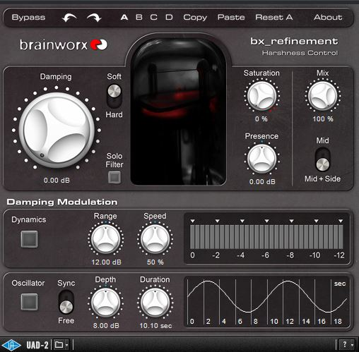 UAD BX - REFINEMENT BRAINWORX PLUG - IN