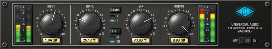 UAD PRECISION MAXIMIZER PLUG - IN